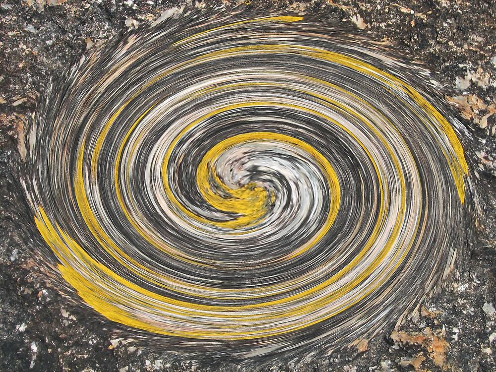 painted rock by kooljunk
