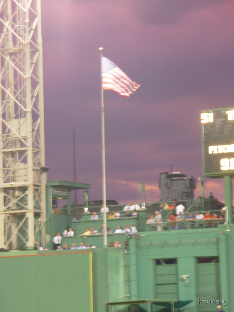 Flag at Fenway by kmulcahy