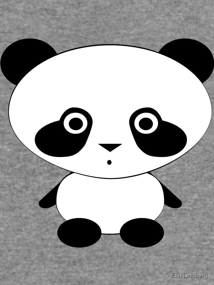 Cute Panda Bear by elindberg
