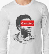 Childish Gambino art Long Sleeve T-Shirt