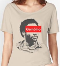 Childish Gambino art Women's Relaxed Fit T-Shirt