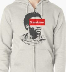 Childish Gambino art Zipped Hoodie