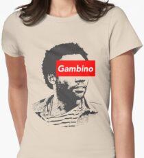 Childish Gambino art Women's Fitted T-Shirt
