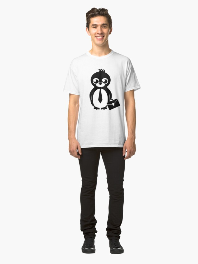 Alternate view of Business Penguin Classic T-Shirt