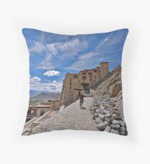 Leh Palace Throw Pillow