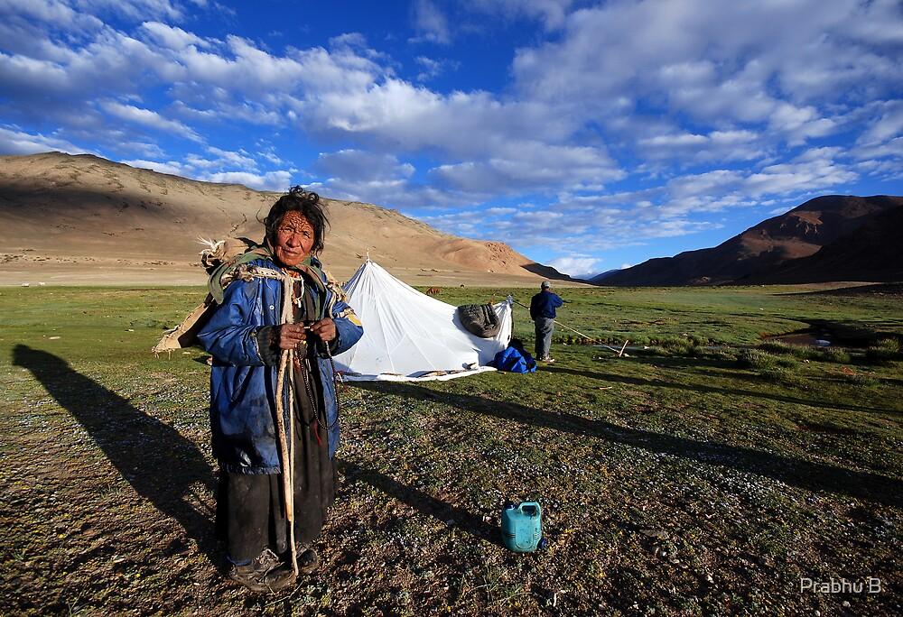 Nomads of Ladakh by Prabhu B