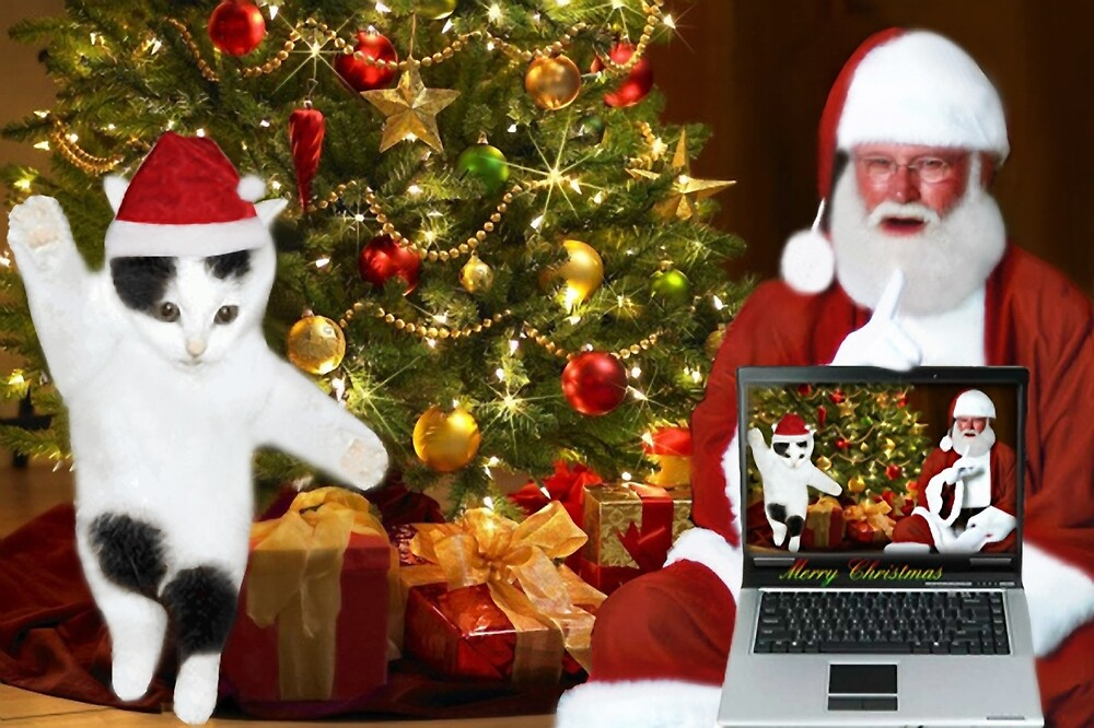 """✰˚ ˛★* """"SANTA IF THEY COULD ONLY SEE US NOW"""" HO ho HO ✰˚ ˛★* by ✿✿ Bonita ✿✿ ђєℓℓσ"""