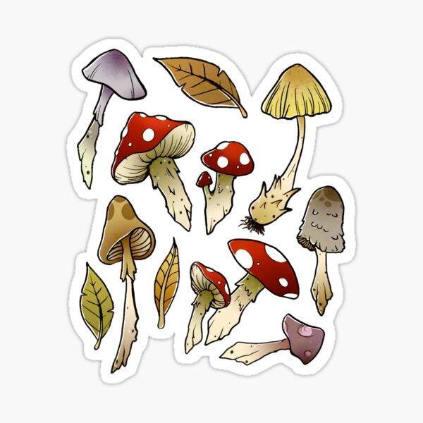 Mushroom Sticker-pack Sticker