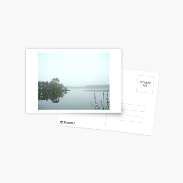 Mist on the Loch Postcard