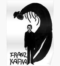 Franz Kafka ink Poster