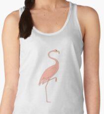 Baby Pink Flamingo Women's Tank Top