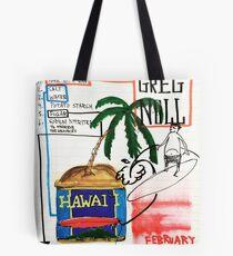 Hawaiian  BIG Wave SPAM Tote Bag