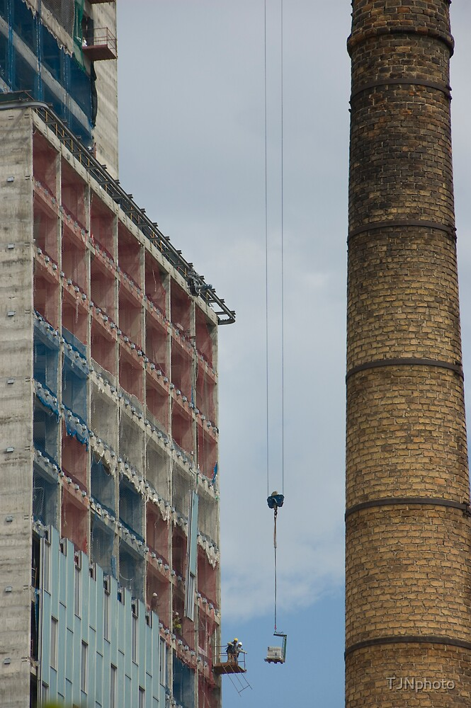 Construction Work by TJNphoto