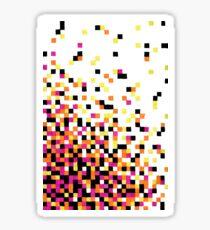 Dissipating Pixels in Gel Pen Sticker