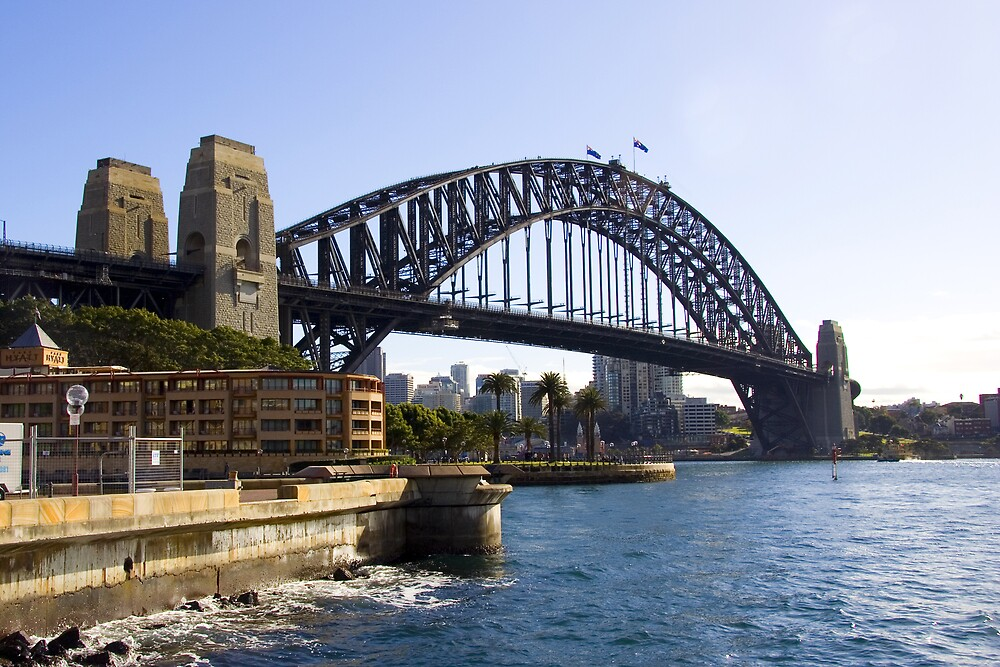 Sydney Harbour Bridge by Martin Pot