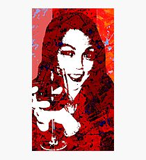 Wine Glow Photographic Print