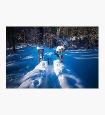 Alpine winter, Austria Photographic Print