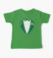 St. Patrick's Day Tuxedo Baby Tee