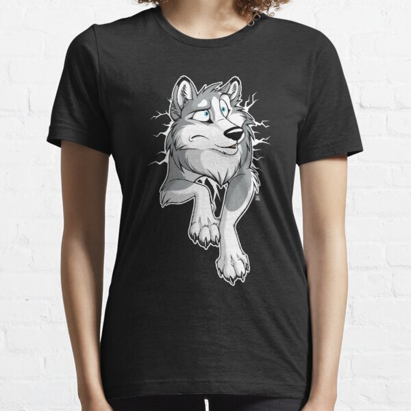 STUCK Husky Grey Essential T-Shirt