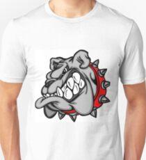 Scary angry bulldog Unisex T-Shirt
