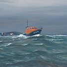Mumbles Lifeboat. by Richard Picton