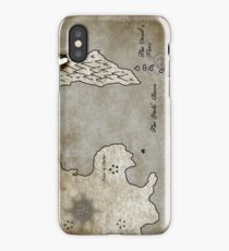 Map - Sacrificed: Heart Beyond the Spires iPhone Case/Skin