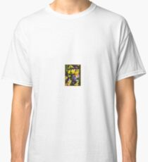 Purple Yellow Pansy Spring Johnny Jump Ups  Classic T-Shirt