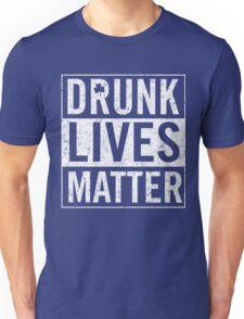 Vintage Drunk Lives Matter Unisex T-Shirt