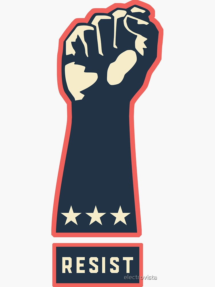Resist Fist - March and Fight for Women's Rights in America by electrovista