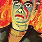 Lincoln Monsters: Frankenstein Box Art Mego Knock Off by PlaidStallions