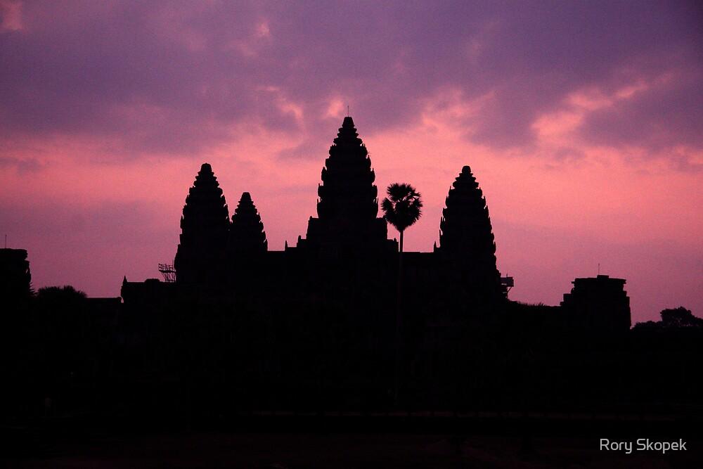 Angkor Wat at Early Dawn by Rory Skopek