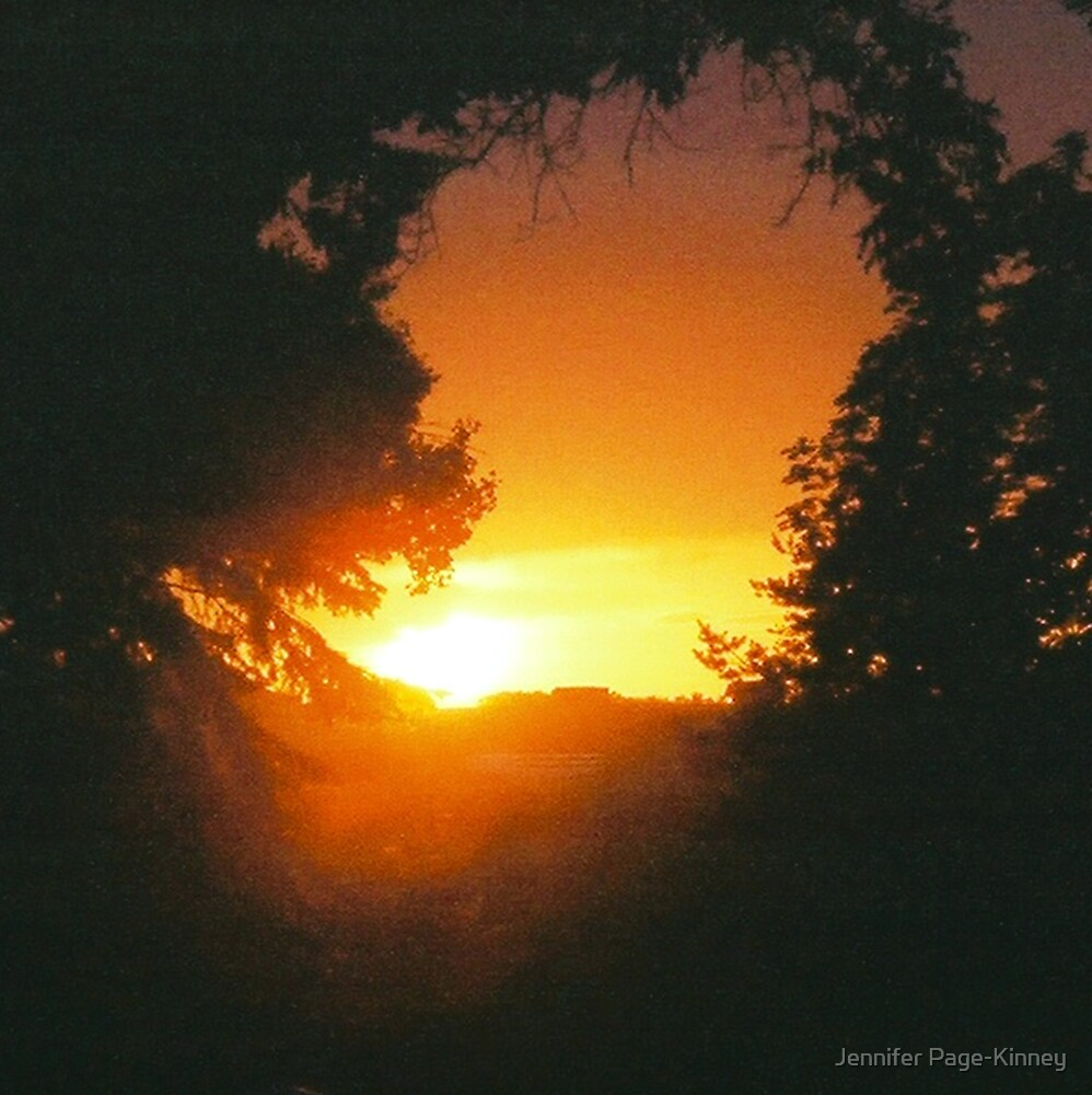 Setting Sun 1 by Jennifer Page-Kinney