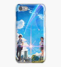 Kimi No Na Wa Poster iPhone Case/Skin