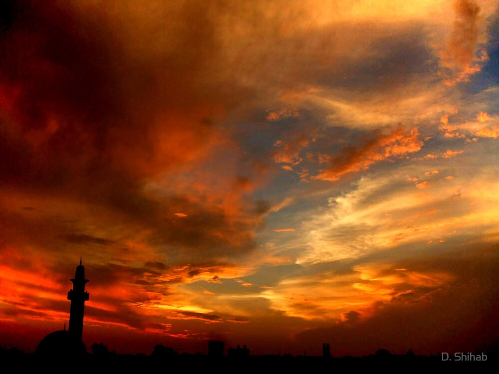 Amazing Sunset1 by D. Shihab