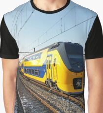 Renovated VIRM on Hoorn Station Graphic T-Shirt