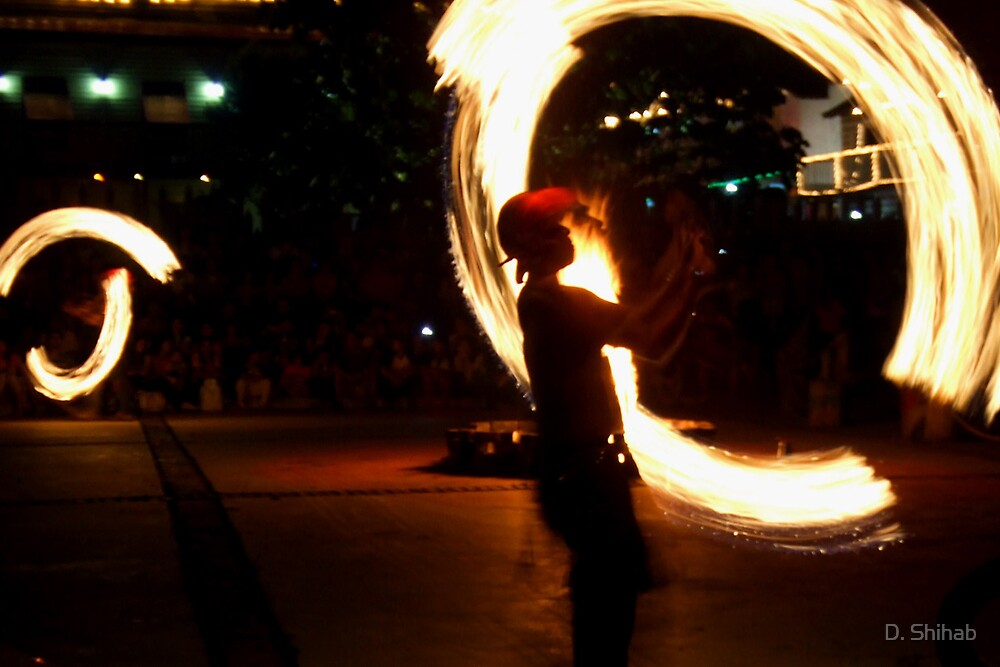 Fire Show by D. Shihab