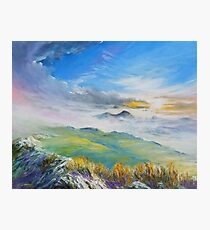 Sunrise in Kerry mountains  Photographic Print