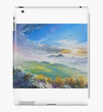 Sunrise in Kerry mountains  iPad Case/Skin