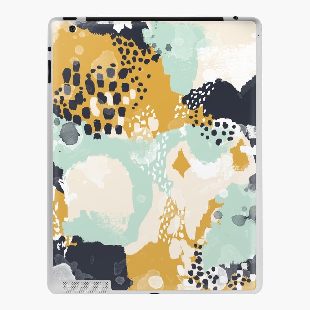 Tinsley - Modern abstract painting in bold, fresh colors iPad Case & Skin