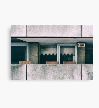 Southbank Windows Canvas Print