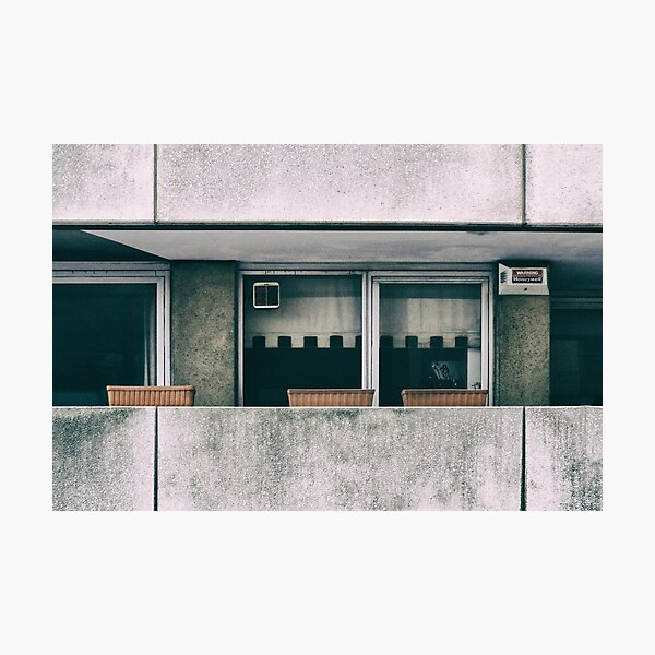 Southbank Windows Photographic Print