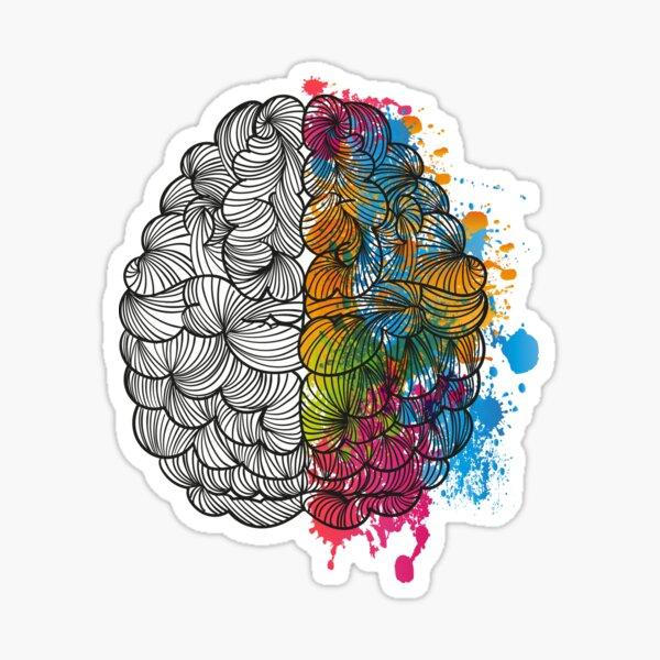 My Brain Sticker