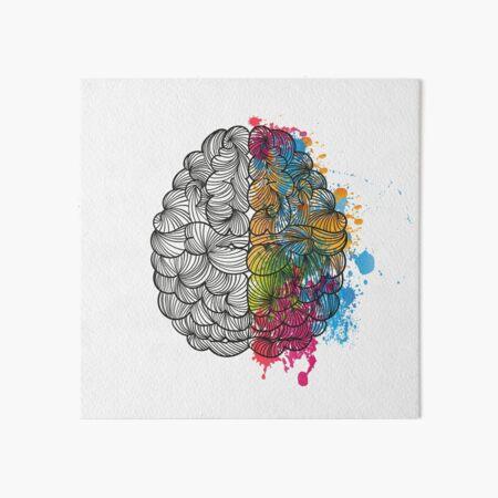 My Brain Art Board Print