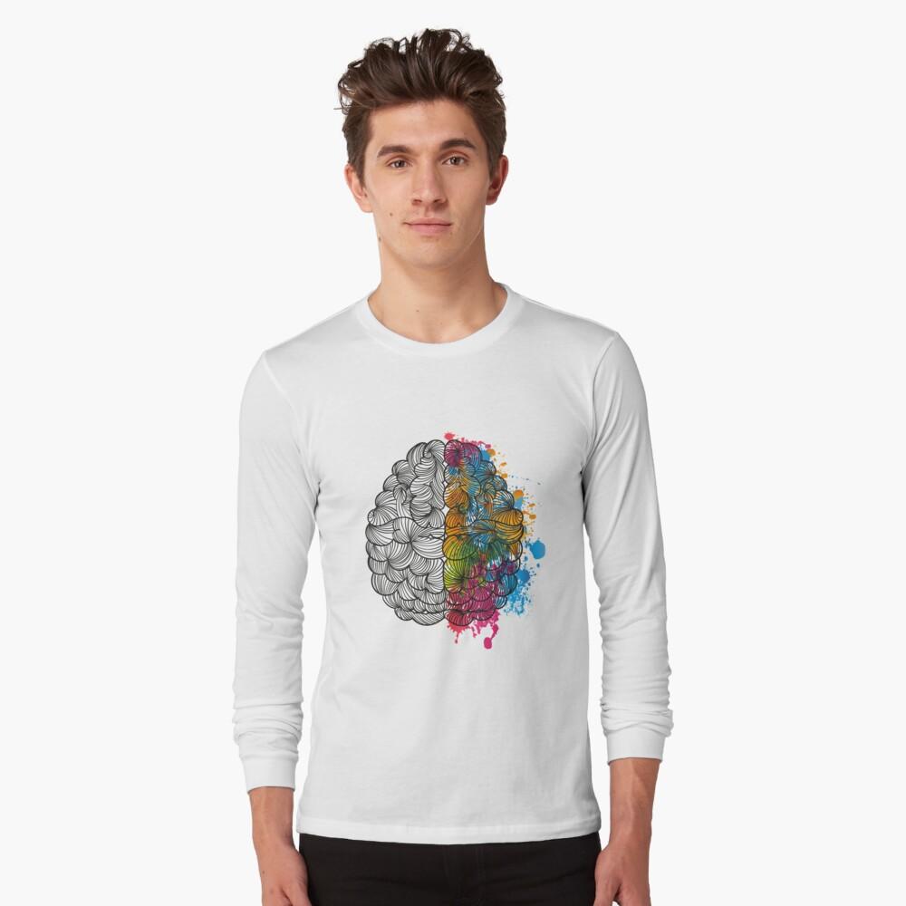 Mi cerebro Camiseta de manga larga