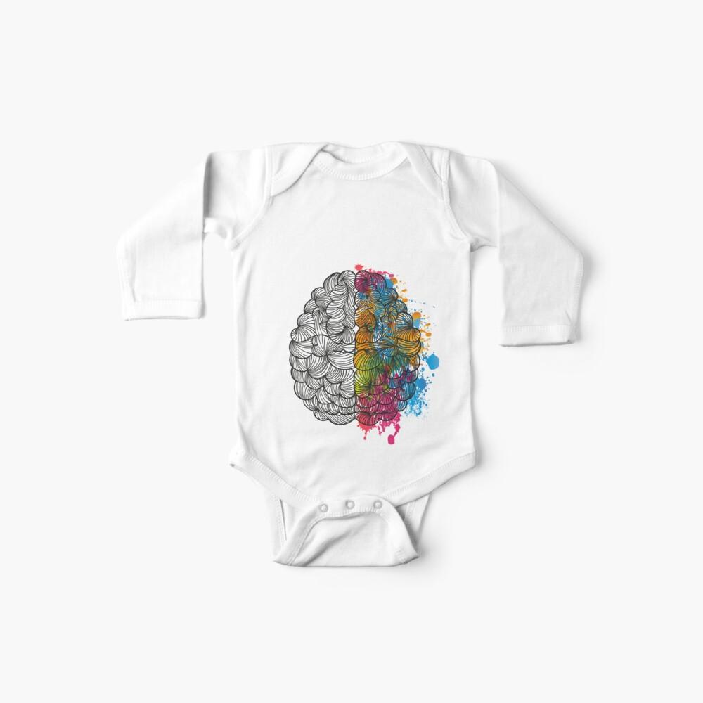 Mi cerebro Bodies para bebé