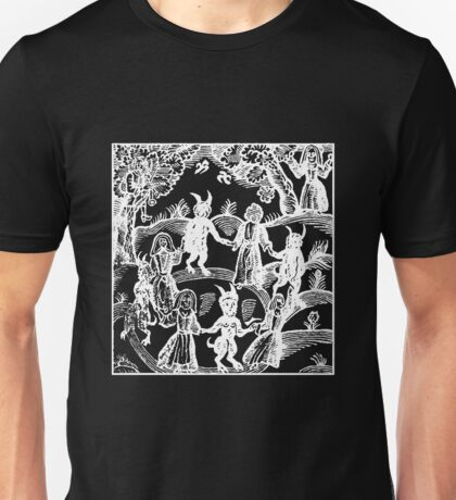 Dance with the Devil  (white)  Unisex T-Shirt
