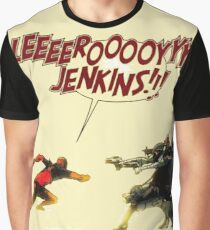Leroy Jenkins Graphic T-Shirt