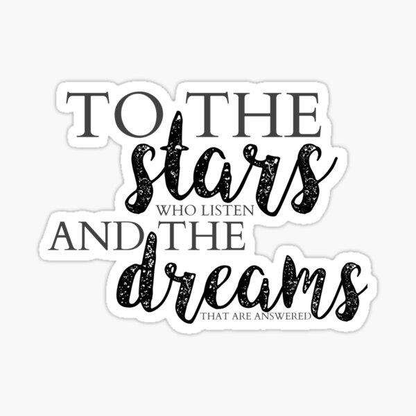 TO THE STARS Sticker