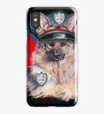Dog police department K-9 iPhone Case/Skin