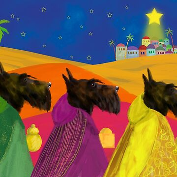We Three Kings Copyright © BonniePortraits on Redbubble.com by BonniePortraits